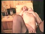 Alina in sauna enjoying threesome fuck-a-thon with her husband and his friend